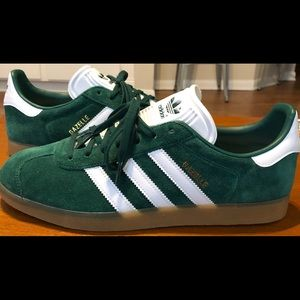 Adidas Gazelle Mens Shoes Collegiate Green